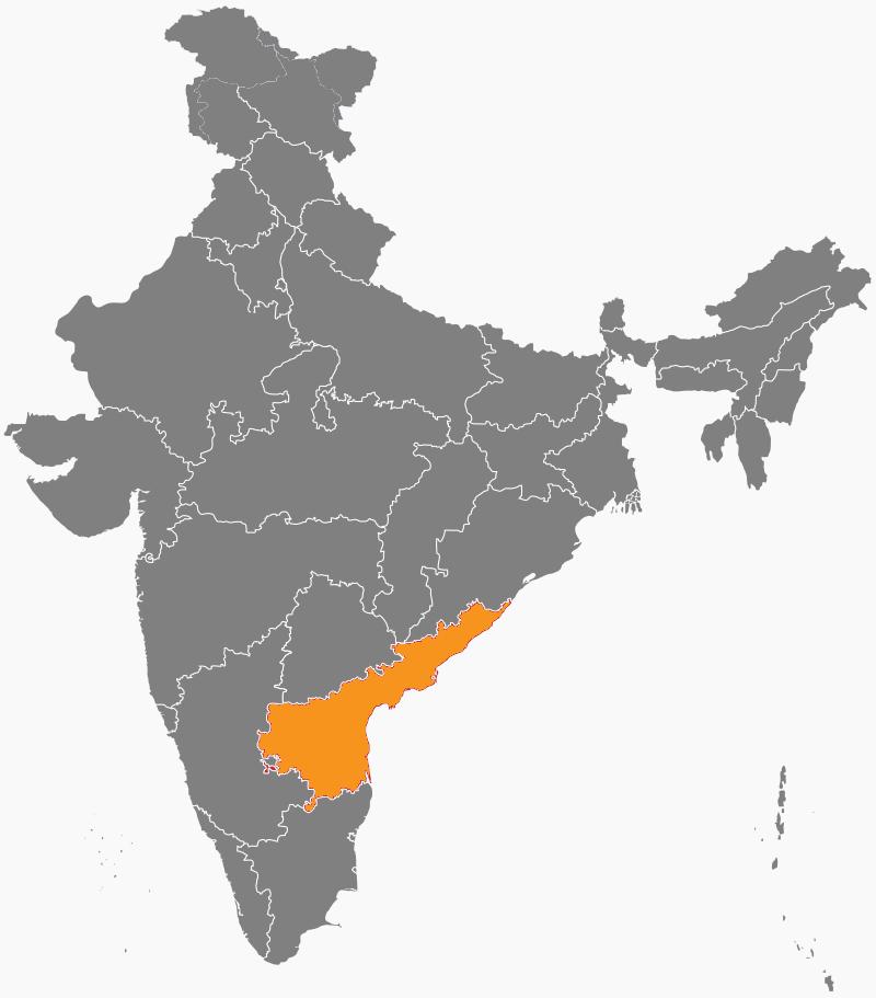 India Map - Andra Pradesh
