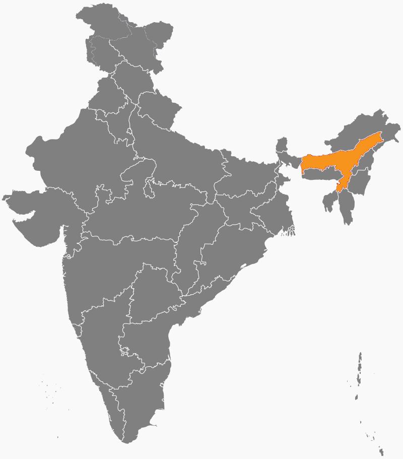 India Map - Assam